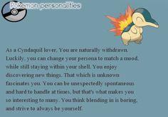 A Pokémon that became my joy, my confidence.