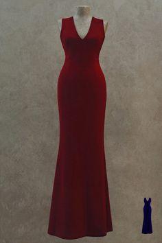 Вечернее платье: B09-1402 - http://vbelom.ru/catalog/vechernee-plate-b09-1402/ Шикарное длинное вечернее платье.  Модель с открытой спинкой, верх выполнен в виде маечки. Цвет бордо излучает элегантность. Великолепное платье для великолепной модницы!