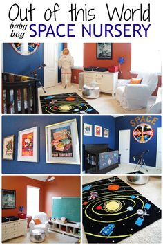 This Outer E Themed Nursery For A Baby Boy Is Out Of World Check