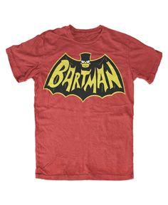 Bartman T-Shirt Rot in Kleidung & Accessoires, Herrenmode, T-Shirts | eBay