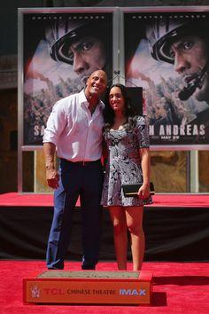 Dwayne Johnson (San Andreas) : Sa fille tient beaucoup de lui !