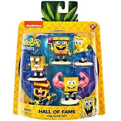 "SpongeBob SquarePants 5 Pack Figures - Hall of Fame - Just Play - Toys ""R"" Us"