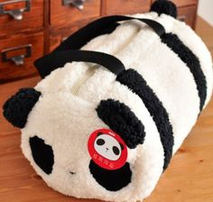 Panda bag! So cute!