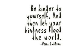 Let your kindness flood the world