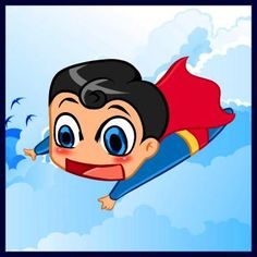 How to Draw Chibi Superman, Step by Step, Chibis, Draw Chibi, Anime, Draw Japanese Anime, Draw Manga, FREE Online Drawing Tutorial, Added by Dawn, April 24, 2010, 1:07:23 am
