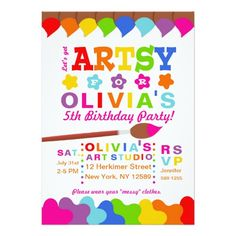 391 best 5th birthday party invitations images on pinterest