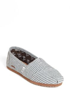 TOMS 'Movember Alpargata' Slip-On (Women)(Limited Edition) available at #Nordstrom