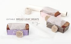 Giftable Bread Loaf Wraps // a DIY from Making Nice in the Midwest