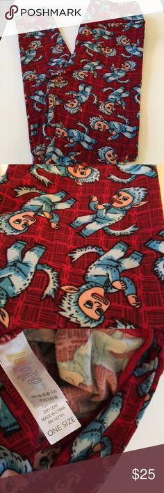 Lularoe Leggings, EUC, Where the Wild Things Are Lularoe Leggings, OS, EUC, washed following Lularoe instructions. LuLaRoe Pants