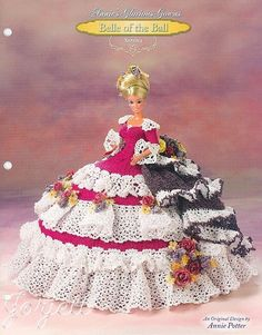 Serena, Annie's Glorious Gowns Belle of the Ball crochet pattern