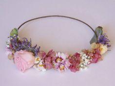 corona de flores. floral crown. flowers crown by HipLove.