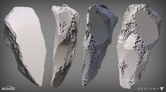 A mysterious shard of the Traveler that I had the pleasure of designing and creating for Destiny. Zbrush Environment, Environment Concept Art, Destiny Bungie, Model Rock, Zbrush Tutorial, Rock Sculpture, Environmental Art, Game Design, Game Art