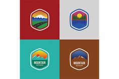 Logo Templates, Improve Yourself, Badge, Designers, Logos, Creative, Outdoor, Vintage, Outdoors