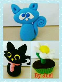 Jumping clay  Had made a few of the same cats... Juz loves the way it look.