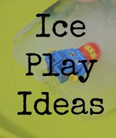 ABC of Science and Play:  ice play ideas.  can't remember if i pinned.