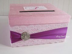 Wedding Card Holder Money Box Card Box - Custom Made