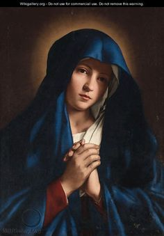 View The Madonna at prayer by Giovanni Battista Salvi Il Sassoferrato on artnet. Browse upcoming and past auction lots by Giovanni Battista Salvi Il Sassoferrato. Mama Mary, Mary I, Mary And Jesus, Holy Mary, Jesus Christ Images, Jesus Art, Blessed Mother Mary, Blessed Virgin Mary, Catholic Art