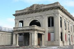 Abandoned station in Gary Indiana
