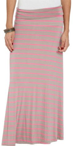 #Wet Seal                 #Skirt                    #Striped #Foldover #Maxi #Skirt #Shop #Just #Arrived #Seal                    Striped Foldover Maxi Skirt | Shop Just Arrived at Wet Seal                                             http://www.seapai.com/product.aspx?PID=304040