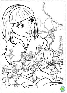 30 Barbie Thumbelina Printable Coloring Pages For Kids Find On Book Thousands Of
