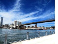 Brooklyn Bridge, N-Y.   Photo de Suzanne FERET