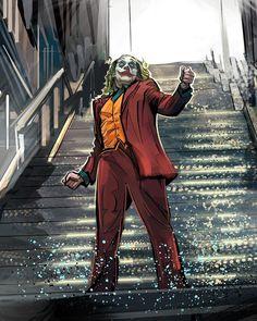 🕺🤡 The last time Arthur will ever use these stairs, he's never going back home! Art Du Joker, Le Joker Batman, Batman Joker Wallpaper, Joker Iphone Wallpaper, Der Joker, Joker Wallpapers, Joker And Harley Quinn, Photos Joker, Joker Images
