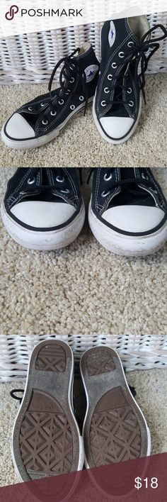 Converse Chuck Taylor All Star High Top Size 13 Unisex Converse All Star higj tops. Size 13. Very good used condition. No holes. Only wear visible along white sole. Youth size 13 From a smoke-free home. Converse Shoes Sneakers