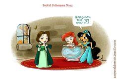 Pocket Princesses #32: Fall    hahahaaa.... Perfect. Just ask Merida, she's knows. :P