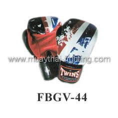 Twins Special Fancy Boxing Gloves  Limited Edition Thai Flag Gloves FBGV-44