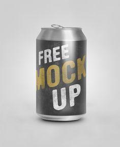 free Soda Can Psd mockup by Giallo86.deviantart.com on @deviantART