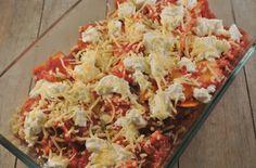 lasagne de oven in