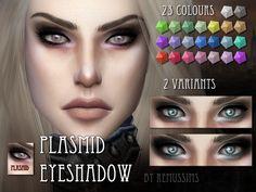 Plasmid Eyeshadow by RemusSirion at TSR via Sims 4 Updates