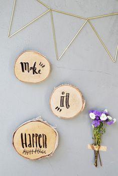 mein Feenstaub – DIY, Deko und Rezepte: {DIY} Lettering auf Holz
