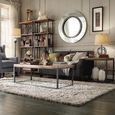 25 Best Industrial Living Room Designs   Industrial living rooms ...