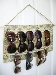 14. Текстильный органайзер для очков