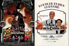 """""""Charly et la chocolaterie"""" et """"L'aile ou la cuisse"""""""