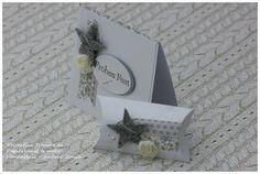 Kleines feines Set (oder auch: Pillowbox und zarte Weihnachtsfarben mit Stampin' Up!)