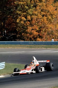 McLaren's first world championship title: 1974 with Fittipaldi (they clinched both the Drivers' and Constructors' titles)