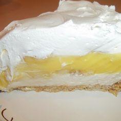 Banana Cream / Pretzel Crust Pie Recipe   Just A Pinch Recipes