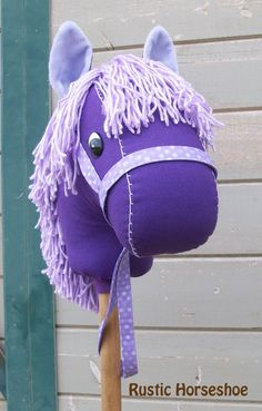 MADE TO ORDER Classic Collection Punky Purple by RusticHorseShoe