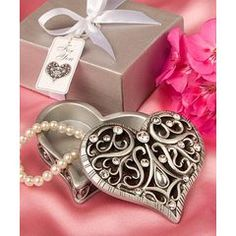 Heart-shaped trinket box for R39.00