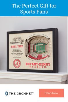 These stadium replicas pay tribute to some of the most famous (and beloved) professional and college sports stadiums in the USA—and they're made here, too. Precision-cut pieces of wood are layered to create an aerial, three-dimensional effect. Christmas Party Games, Great Christmas Gifts, Holiday Fun, Xmas, 3d Wall Art, Unique Wall Art, Great Gifts For Dad, Gifts For Him, Valentines Surprise
