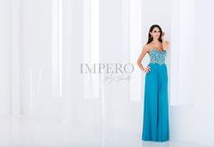 MY 2297 #abiti #dress #wedding #matrimonio #cerimonia #party #event #damigelle #turchese #turquoise