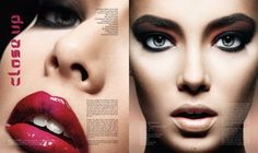 Editorial Work by Make-Up Artist Theresa Francine.