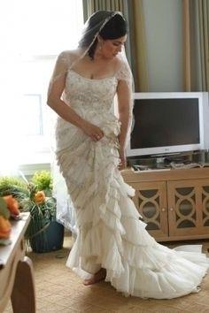 Lazaro 3059 Wedding Dress for sale