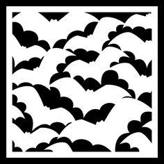 Bat Background by Bird - FREE Cut File http://www.birdscards.com/bat-background/