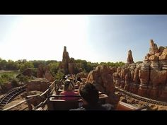 Big Thunder Mountain Ride On Frontierland filmed with GoPro Hero+3 HD Promotion www.theluxetoys.com Disneyland Paris