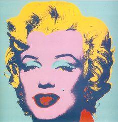 Andy Warhol - Marilyn 1967, tunnettua pop-taidetta