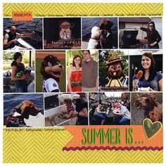 Designer Kit - Volume 2: Many Photos Summer Layout