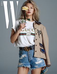 170720 'W KOREA' Magazine Photoshop, 2017 August Issue SNSD 10th Anniversary SNSD Hyoyeon